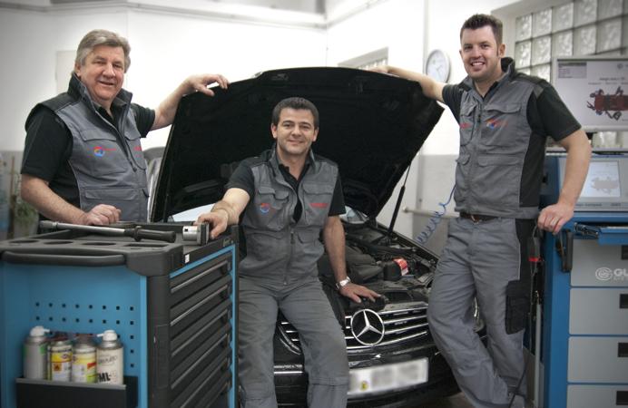 Total Tankstelle Filderstadt Team Werkstatt