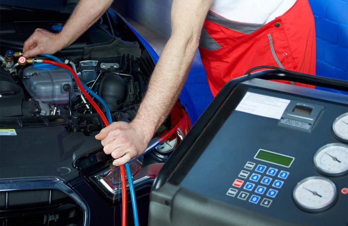 Total Tankstelle Klimaanlage Service Filderstadt