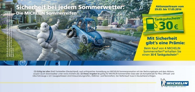 MICHELIN Sommerreifenpromotion