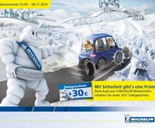MICHELIN WINTERAKTIONSWOCHEN 2014