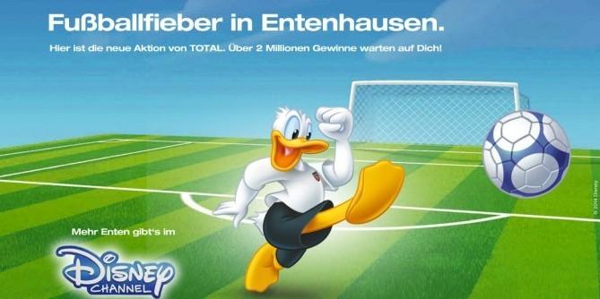 Fußball-Fieber in Entenausen
